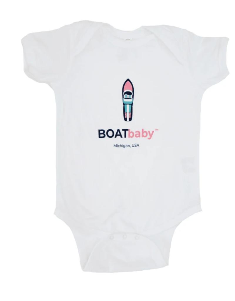 Boatman Boatbaby Onesie Pink