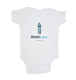 Boatman Boatbaby Onesie Blue 18M