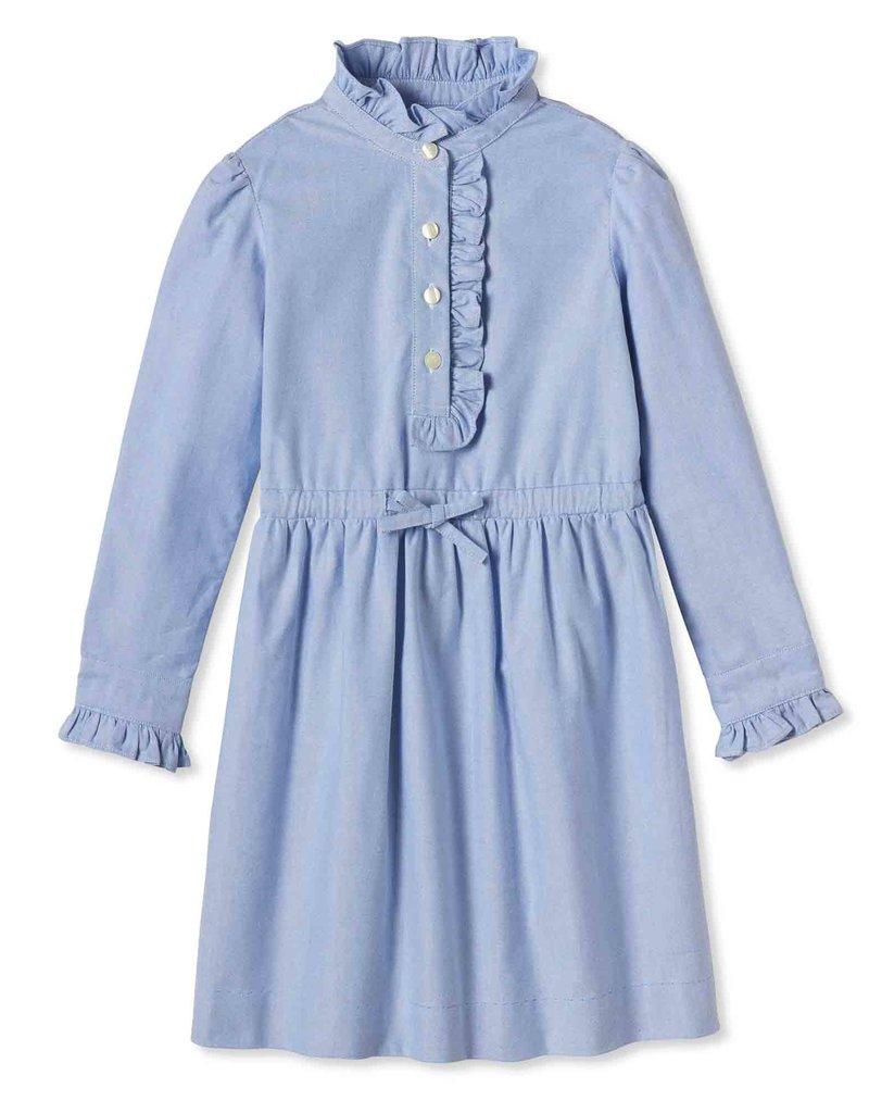 Classic Prep Sadie Shirtdress Blue Oxford 5-12