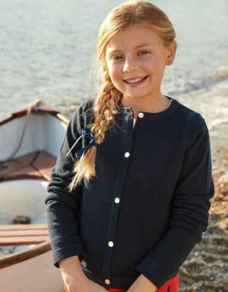 Classic Prep Rachel Cardigan Navy