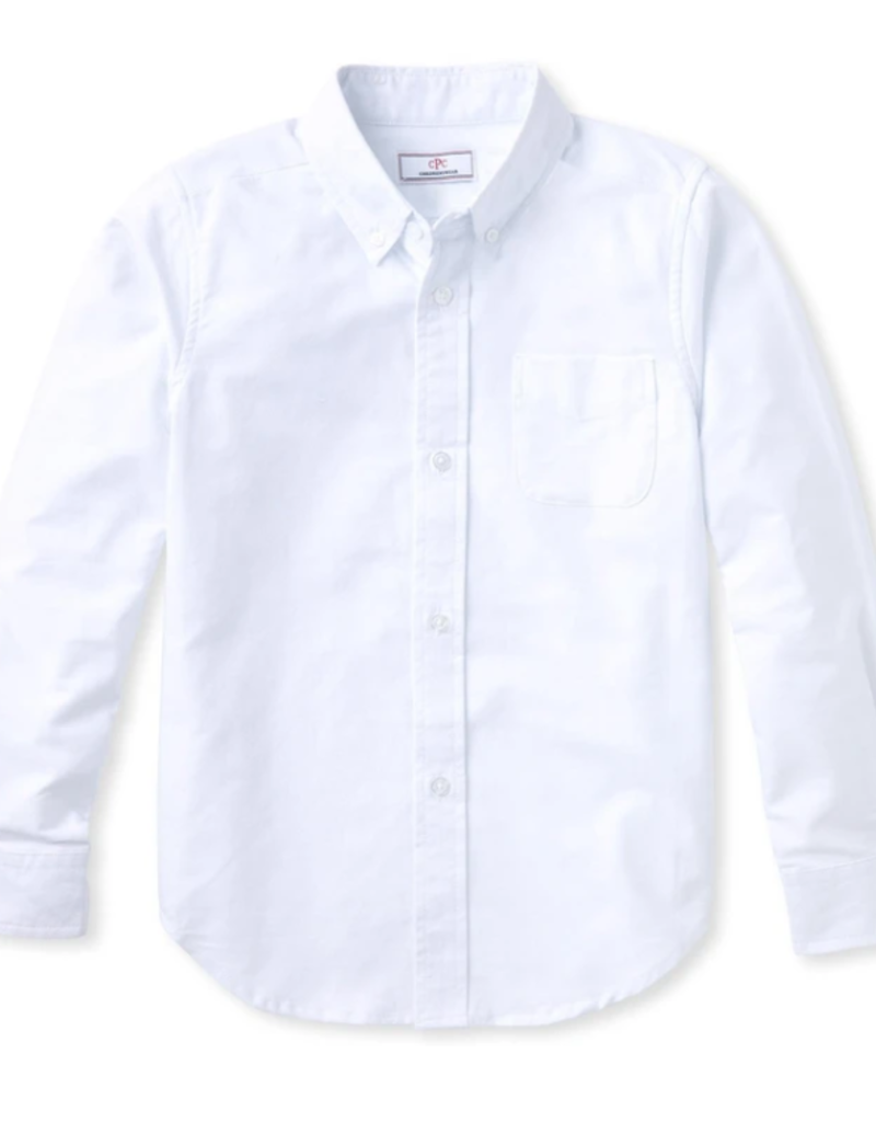 Classic Prep Owen L/S Button Down Shirt White 2T-14