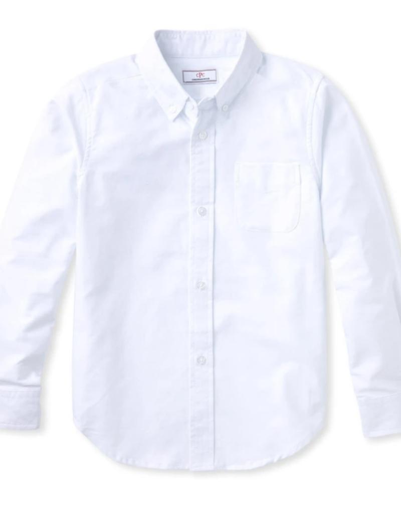 Classic Prep Owen L/S Button Down Shirt White
