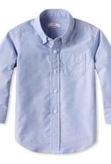 Classic Prep Owen Button Down Shirt Blue Oxford