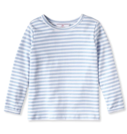Classic Prep Jillian L/S Top Bluebell Stripe
