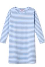 Classic Prep Jillian L/S Dress Bluebell/White Stripe
