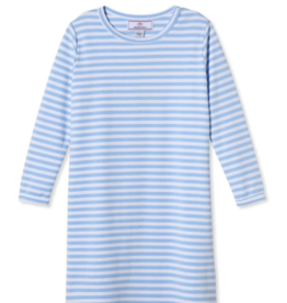 Classic Prep Jillian L/S Dress Bluebell Stripe 2T-10