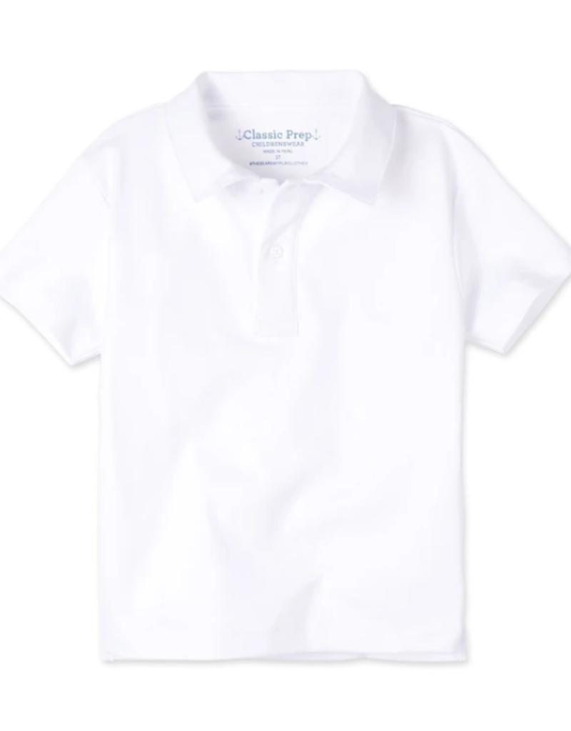 Classic Prep Henry S/S Polo White