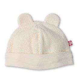 Zutano Fleece Hat Cream 18M