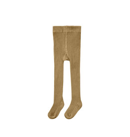 Rylee & Cru Rib Knit Tights Goldenrod 0/6M