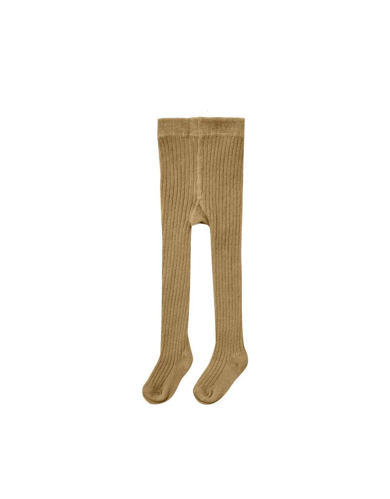 Rylee & Cru Rib Knit Tights Goldenrod