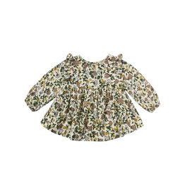 Rylee & Cru Enchanted Garden Piper Blouse 12/18M-2/3yr