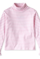 Classic Prep Eloise Turtleneck Pink/White Stripe