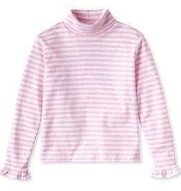 Classic Prep Eloise Turtleneck Pink Stripe 12/18M, 18/24M
