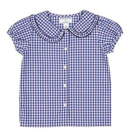 Classic Prep Chloe Button Front Shirt Gingham