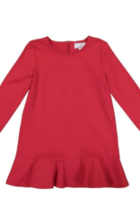 Classic Prep Sophie Swing Dress Lipstick Red