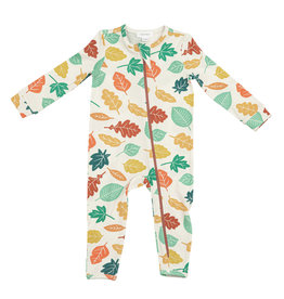 Angel Dear Fall Leaves Romper 3/6M-18/24M
