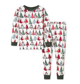 Burt's Bees O Christmas Tree PJ Set XS(4/5)-XL(8/10)