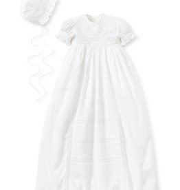 Kissy Kissy Nicole S/S Gown Hat Set 6/12M