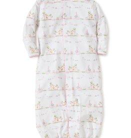Kissy Kissy Noah's Print Conv. Gown Pink 0/3M, Small
