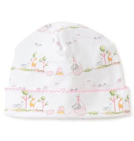 Kissy Kissy Noah's Print Hat Pink NB-Med.