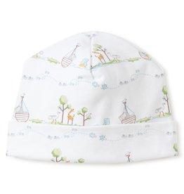 Kissy Kissy Noah's Print Hat Lt Blue NB-Med.