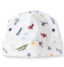 Kissy Kissy Aviators Print Hat Medium