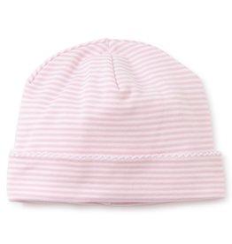 Kissy Kissy Stripes Hat Pink Preemie-Medium