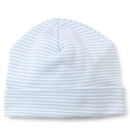 Kissy Kissy Stripes Hat Lt Blue NB-Medium