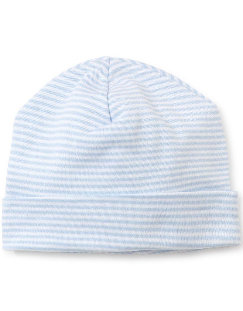 Kissy Kissy Stripes Hat Lt Blue