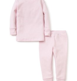 Kissy Kissy Pj Set Pink Stripes 2T-6