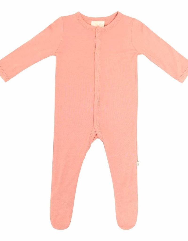 Kyte Baby Footie in Terracotta