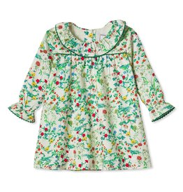 Classic Prep Elsa Dress Fall Floral 3/6M-2T