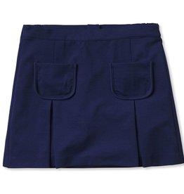 Classic Prep Cara Ponte Skirt Blue 5-14