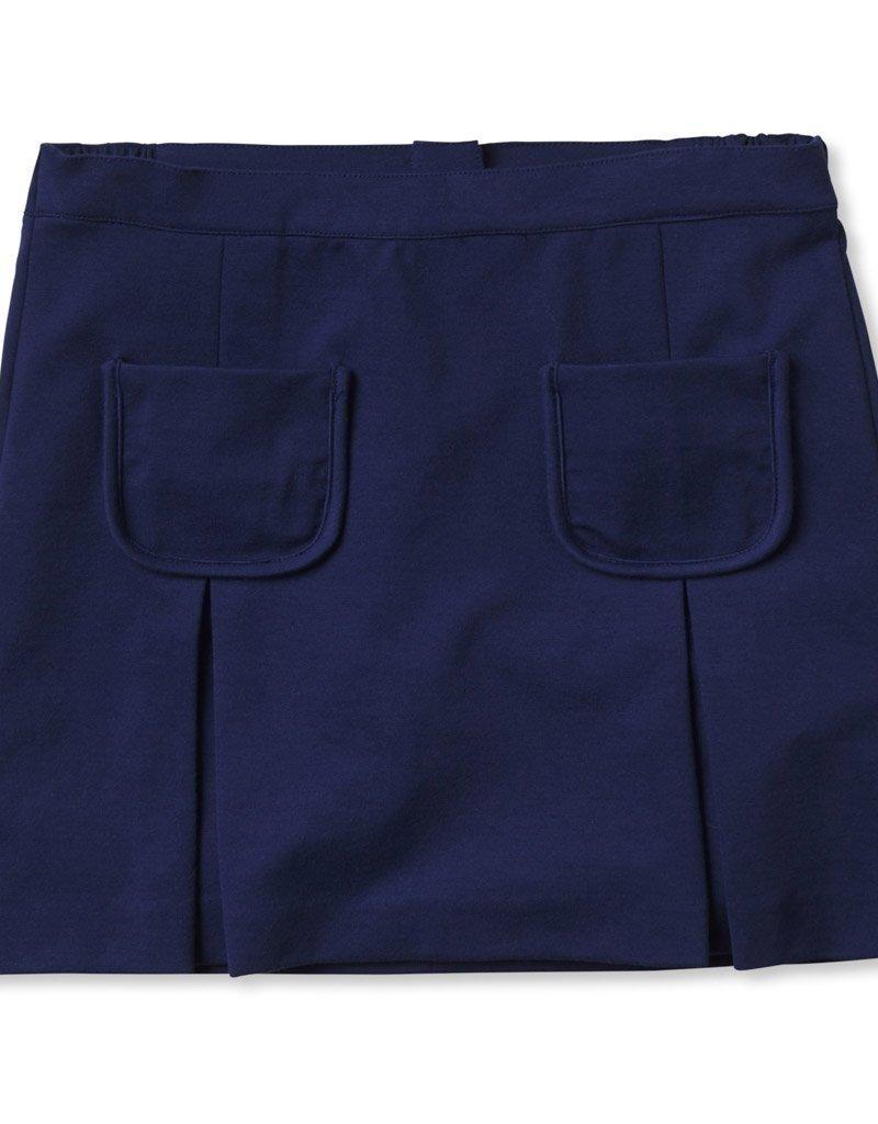 Classic Prep Cara Ponte Skirt Blue