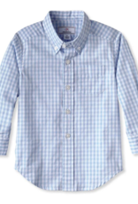 Classic Prep Owen L/S Button Down Shirt Bluebell Gingham