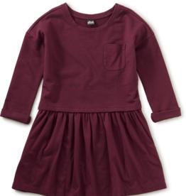 Tea Collection Pocket Play Dress Boysenberry 2-7