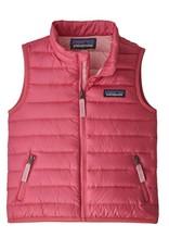 Patagonia Down Sweater Vest Range Pink 3/6M-5T