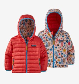 Patagonia Rev Down Hoody Sprouts Seafan Pink 6M-5T