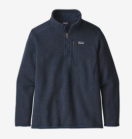 Patagonia Better Sweater 1/4 Zip New Navy XS-XL