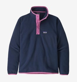 Patagonia Micro D Snap T Pull Over New Navy L(12)