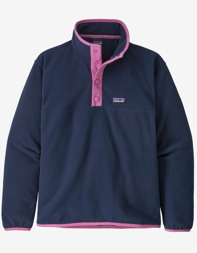 Patagonia Micro D Snap T Pull Over New Navy XS(5/6-XL(14)