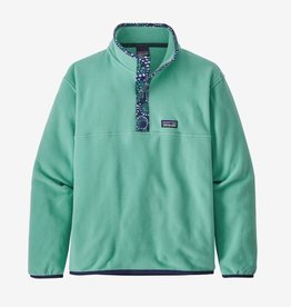 Patagonia Micro D Snap T Pull Over Beryl Green XS(5/6-XL(14)