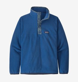Patagonia Micro D Snap T Pull Over Superior Blue M(10)