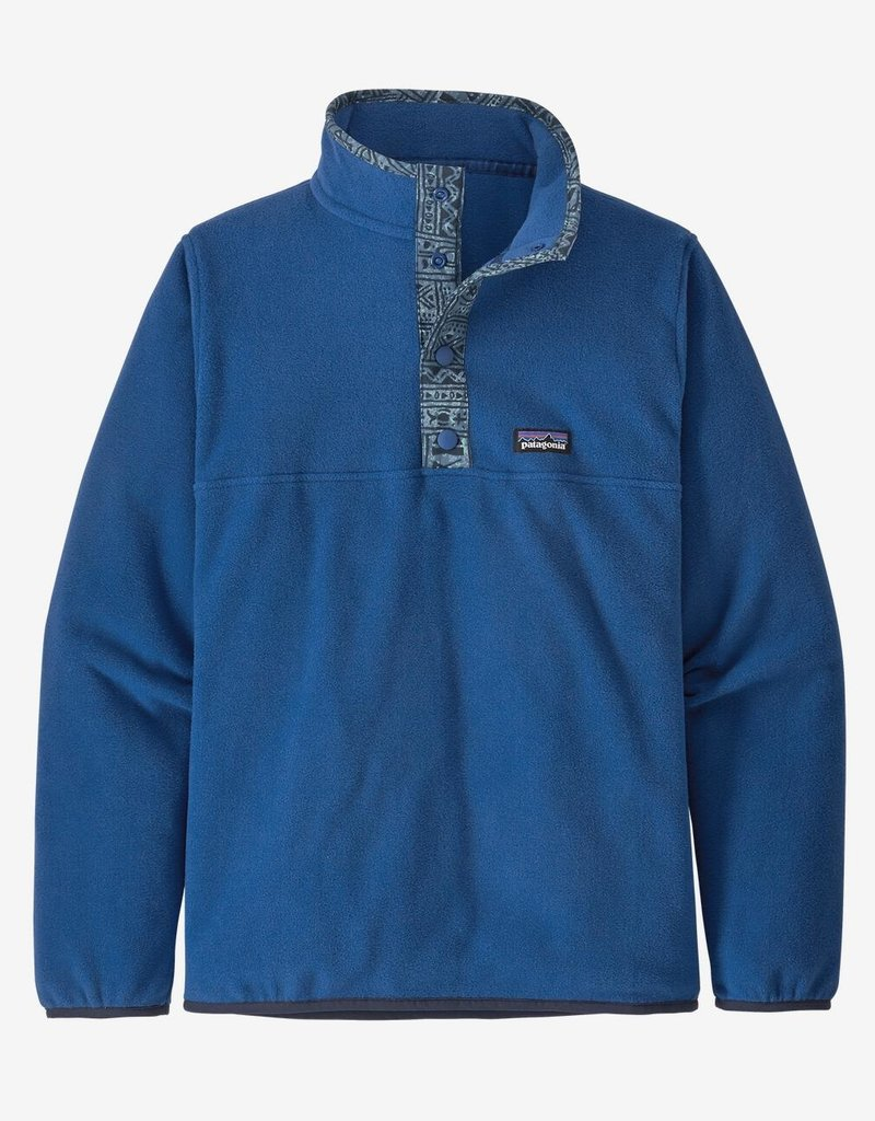 Patagonia Micro D Snap T Pull Over SPRB Superior Blue