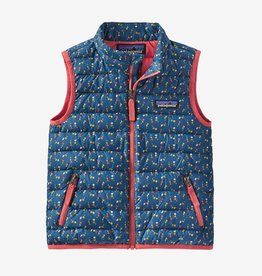 Patagonia Down Sweater Vest Crater Blue 3/6M