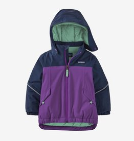 Patagonia Snow Pile Jacket Purple 2T-5T