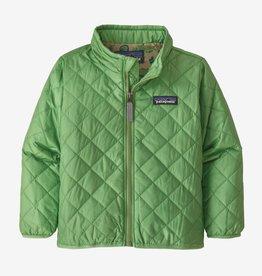 Patagonia Nano Puff Jacket Thistle Green 3/6M-5T