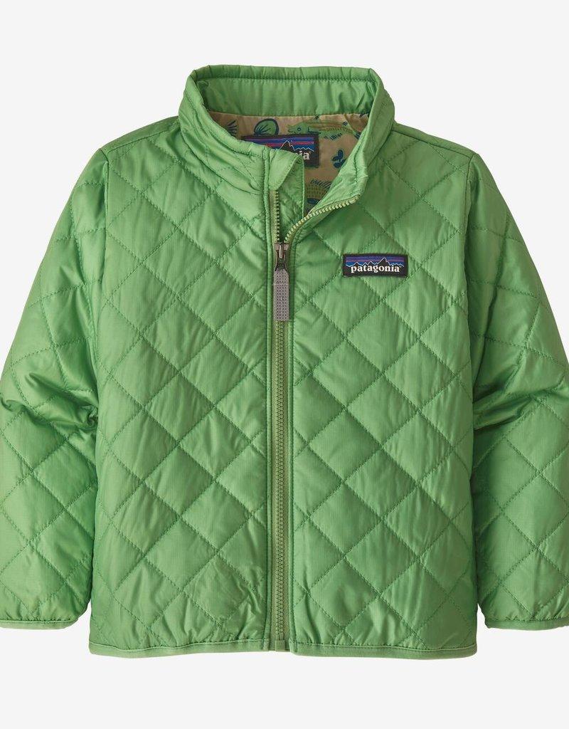 Patagonia Nano Puff Jacket Thistle Green 6/12M-5T