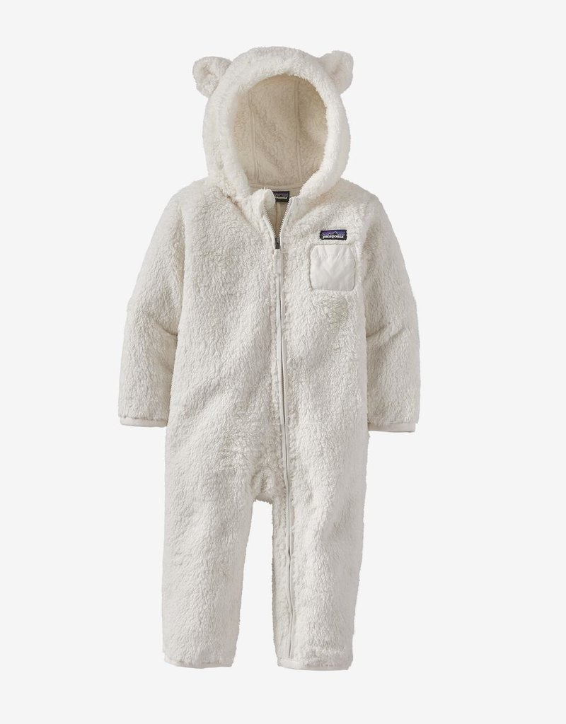 Patagonia Furry Friends Bunting Birch White NB-2T