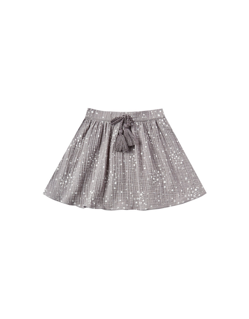 Rylee & Cru Moondust Mini Skirt Periwinkle 2/3-12/14